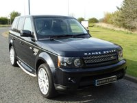USED 2011 61 LAND ROVER RANGE ROVER SPORT 3.0 SDV6 HSE 5d AUTO 255 BHP SAT NAV, TV, LEATHER, SIDE STEPS