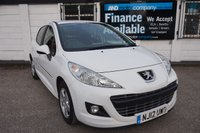 USED 2012 12 PEUGEOT 207 1.4 SPORTIUM 5d 74 BHP FSH-A/C-ALLOYS Full Service History, 2 Owners, Alloy Wheels, Privacy Glass