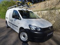 2013 VOLKSWAGEN CADDY MAXI 1.6 C20 TDI STARTLINE BLUEMOTION TECHNOLOGY 1d 101 BHP PANEL VAN £6995.00