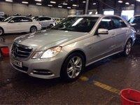 2012 MERCEDES-BENZ E CLASS 2.1 E220 CDI BLUEEFFICIENCY EXECUTIVE SE 4d AUTO 170 BHP £SOLD