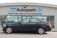2014 MERCEDES-BENZ C CLASS 2.1 C220 CDI EXECUTIVE SE PREMIUM 4d AUTO 168 BHP £9995.00