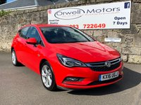 USED 2016 16 VAUXHALL ASTRA 1.4 SRI 5d 148 BHP FINANCE AVAILABLE+CRUISE CONTROL+AIR CONDITIONING