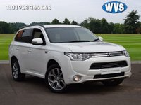 USED 2014 64 MITSUBISHI OUTLANDER 2.0 PHEV GX 3H 5d AUTO 162 BHP A hybrid pertol/electric November 2014 Mitsubishi Outlander 2.0 PHEV GX3h 5dr AUTO in white with just 19000 miles. 1 owner, 3 main dealer services.