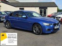 USED 2014 64 BMW 3 SERIES 2.0 320D M SPORT 4d AUTO 181 BHP FULL LEATHER INTERIOR