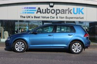 2013 VOLKSWAGEN GOLF 1.6 SE TDI BLUEMOTION TECHNOLOGY 5d 103 BHP £7295.00