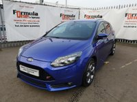 USED 2014 64 FORD FOCUS 2.0 ST-3 (s/s) 5dr LOW MILES+LEATHER+BLUETOOTH