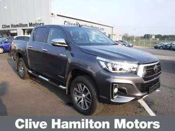 2019 TOYOTA HI-LUX 2.4 INVINCIBLE X 4WD D-4D DCB 4d AUTO 147 BHP NEW MODEL £24995.00