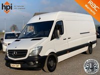USED 2014 64 MERCEDES-BENZ SPRINTER 2.1 313 CDI LWB FACELIFT AC SAT NAV HIGH ROOF LWB, FACELIFT, AC, ONE OWNER, MAIN DEALER HISTORY