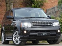USED 2012 12 LAND ROVER RANGE ROVER SPORT 3.0 SDV6 HSE 5d AUTO 255 BHP 1 OWNER ONLY 75K FSH SAT NAV