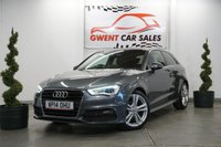 USED 2014 14 AUDI A3 2.0 TDI S LINE 3d 148 BHP *D.A.B, BLUETOOTH, PARKING SENSORS*