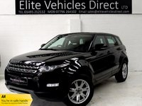 USED 2013 63 LAND ROVER RANGE ROVER EVOQUE 2.2 SD4 PURE 5d AUTO 190 BHP