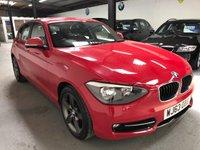 2013 BMW 1 SERIES 1.6 114I SPORT 5d 101 BHP £7795.00
