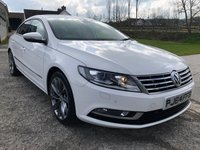 2014 VOLKSWAGEN CC 2.0 GT TDI BLUEMOTION TECHNOLOGY 4d 138 BHP £9795.00