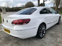 USED 2014 64 VOLKSWAGEN CC 2.0 GT TDI BLUEMOTION TECHNOLOGY 4d 138 BHP