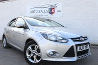 USED 2011 61 FORD FOCUS 1.6 ZETEC 5d AUTO 124 BHP