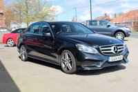 USED 2014 14 MERCEDES-BENZ E CLASS 2.1 E220 CDI AMG Sport 7G-Tronic Plus 4dr Sat Nav, Heated Seats, FSH