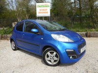 USED 2013 13 PEUGEOT 107 1.0 ALLURE 5dr £0 Tax, Air Con, 1 Owner