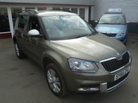USED 2016 65 SKODA YETI 2.0 OUTDOOR SE L TDI SCR 5d 109 BHP Retail price £11995,with £500 minimum part exchange allowance,balance price £11495