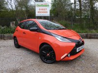 USED 2015 15 TOYOTA AYGO 1.0 VVT-I X-CITE 5dr Cruise, Camera, Media, £0 Tax