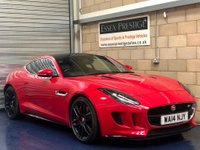 2014 JAGUAR F-TYPE 5.0 V8 Supercharged R Coupe 2dr Petrol Automatic (255 g/km, 542 bhp) £39989.00