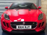 USED 2014 14 JAGUAR F-TYPE 5.0 V8 Supercharged R Coupe 2dr Petrol Automatic (255 g/km, 542 bhp) +FULL SERVICE+WARRANTY+FINANCE