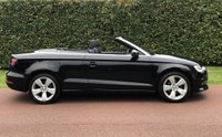 USED 2015 15 AUDI A3 1.4 TFSI CoD Sport Cabriolet 2dr LOW MILES+£30TAX+HEATED SEATS