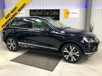 USED 2015 15 VOLKSWAGEN TOUAREG 3.0 V6 R-LINE TDI BLUEMOTION TECHNOLOGY - AIR SUSPENSION/ELEC TOWBAR/CAMERAS 5d AUTO 202 BHP