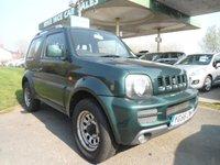 2006 SUZUKI JIMNY 1.3 JLX 3d 83 BHP £3995.00