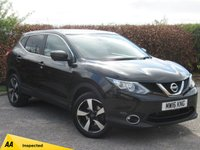 USED 2016 16 NISSAN QASHQAI 1.2 N-CONNECTA DIG-T 5d FULL SERVICE HISTORY * 1 OWNER FROM NEW * BLUETOOTH * SAT NAV * REVERSING CAMERA