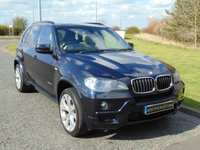 USED 2009 59 BMW X5 3.0 XDRIVE30D M SPORT 5d AUTO 232 BHP PAN ROOF, SAT NAV, LEATHER WITH HEATED SEATS