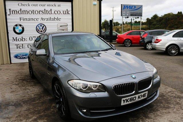 2010 60 BMW 5 SERIES 3.0 525D SE AUTO 202 BHP (FINANCE AND WARRANTY)