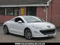 USED 2012 62 PEUGEOT RCZ 2.0 HDI SPORT 2dr GREAT LOOKING CAR