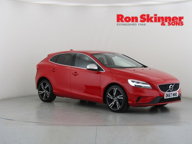 View our 2017 67 VOLVO V40 2.0 D2 R-DESIGN PRO 5d 118 BHP