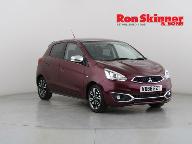 View our 2019 68 MITSUBISHI MIRAGE 1.2 4 5d AUTO 79 BHP