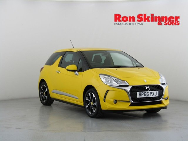 View our 2016 66 DS DS 3 1.2 PURETECH ELEGANCE S/S 3d 109 BHP