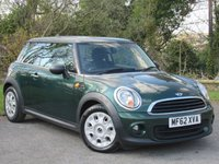 USED 2012 62 MINI HATCH ONE 1.6 ONE 3d  ECONOMICAL MINI ONE HATCHBACK