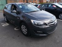 USED 2013 63 VAUXHALL ASTRA Tourer 1.3 CDTI EcoFlex ES ONLY 19430 MILES FROM NEW! LOW CO2 WITH ONLY £20 A YEAR ROAD TAX! 1 OWNER WITH FULL SERVICE HISTORY AND AIR CON