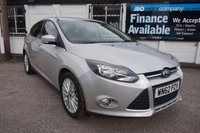 USED 2012 62 FORD FOCUS 1.0 ZETEC 5d 99 BHP FSH-£20 TAX-DAB-B/TOOTH Full Service History, DAB Radio, Bluetooth, Alloy Wheel