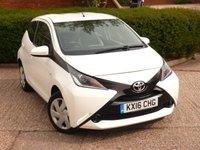 2016 TOYOTA AYGO 1.0 VVT-I X-PLAY 5d 69 BHP £5149.00