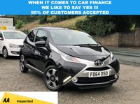 USED 2014 E TOYOTA AYGO 1.0 VVT-I X-CLUSIV 5d 69 BHP LOVELY CAR INSIDE AND OUT, CRUISE CONTROL, BLUETOOTH, ALLOY WHEELS! THIS CAR COMES WITH A LONG MOT UNTIL 04/2020, FULL SERVICE HISTORY