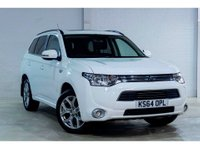 2015 MITSUBISHI OUTLANDER 2.0 PHEV GX 4H 5 DOOR AUTO 162 BHP IN WHITE WITH 117000 MILES WITH SAT NAV AND LEATHER WITH A FULL SERVICE HISTORY. £11299.00