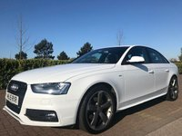 2015 AUDI A4 2.0 TDI BLACK EDITION 4d 174 BHP £15495.00