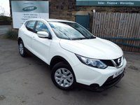 USED 2014 14 NISSAN QASHQAI 1.2 VISIA DIG-T 5d 113 BHP One Former Owner With Full Service History