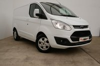 2018 FORD TRANSIT CUSTOM 2.0 270 LIMITED L1 H1 AUTOMATIC 130 BHP (EURO 6, AUTO, LOW MILES) £17990.00