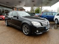 USED 2009 MERCEDES-BENZ C CLASS 3.0 C350 CDI SPORT 4d AUTO 222 BHP SAT NAV,LEATHER,TWO KEYS,SERVICE HISTORY,HEATED SEATS