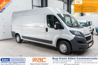 2017 PEUGEOT BOXER 2.0 BLUE HDI 335 L3H2 PROFESSIONAL *LONG WARRANTY REMAINING* £11995.00
