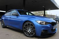 2015 BMW 3 SERIES 3.0 330D M SPORT 4d AUTO 255 BHP £19990.00