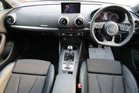 USED 2017 17 AUDI A3 1.4 TFSI BLACK EDITION 5d 148 BHP