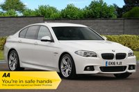 USED 2016 16 BMW 5 SERIES 3.0 535D M SPORT 4d AUTO 309 BHP Huge Specification