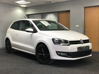 USED 2013 63 VOLKSWAGEN POLO 1.2 MATCH EDITION 3d 59 BHP+++ULTRA LOW MILEAGE+++